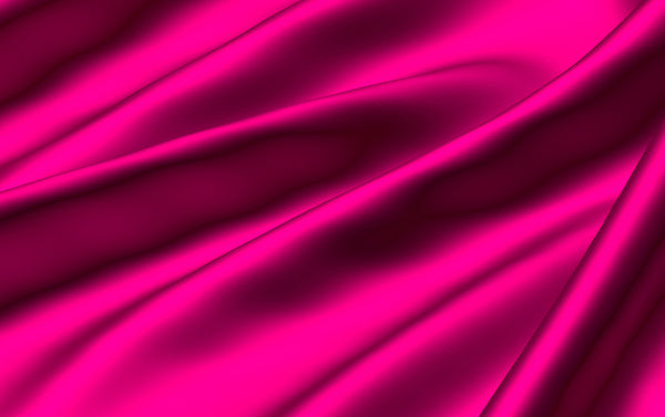 hot pink folds of silk