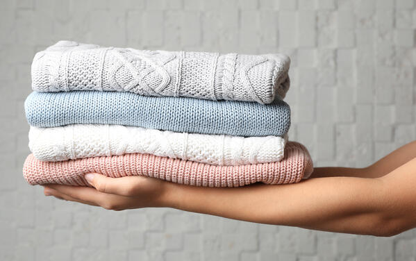 storage for cashmere sweaters