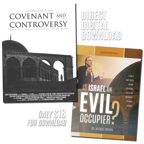 "*Special* 2 FILMS ""City of The Great King"" & ""Is Israel an Evil Occupier?"" BUNDLE"
