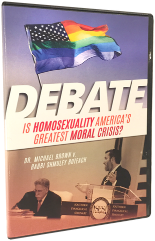 Is Homosexuality America's Greatest Moral Crisis? Brown/Boteach DVD/Digital Download