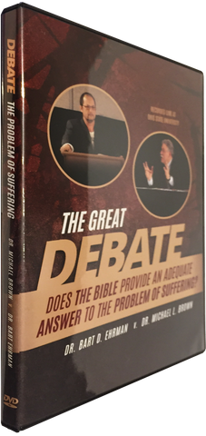 DEBATE: Does the Bible Provide an Answer to the Problem of Suffering? Debate DVD/Digital Download