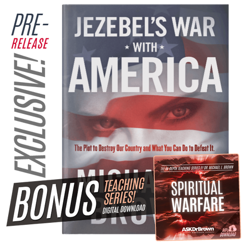 *PRERELEASE* Jezebel's War With America NEW SIGNED BOOK + FREE Spiritual Warfare SERIES!