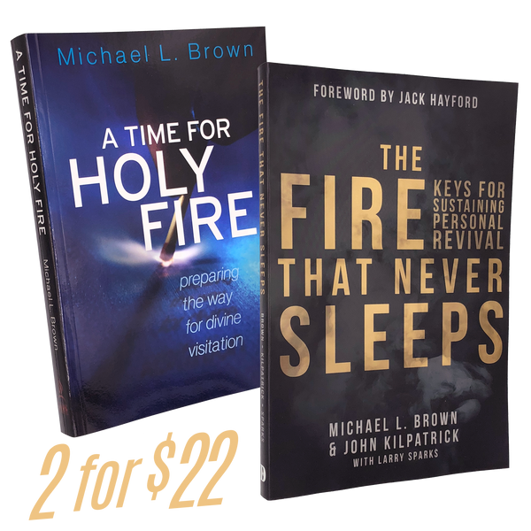 *Special* 2 BOOKS 3 AUTHORS - The Fire that Never Sleeps - A Time for Holy Fire