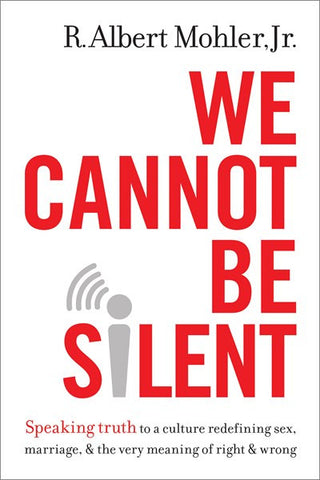 *Clearance* We Cannot Be Silent (Hardcover)