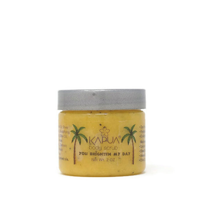 You Brighten My Day Sugar Body Scrub (Lemon) 2oz