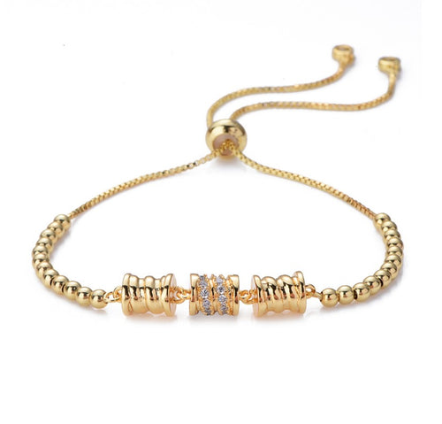 Spring Essence Bangle 18Ct Gold Plate