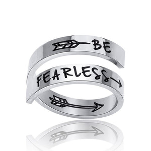 BE FEARLESS RING
