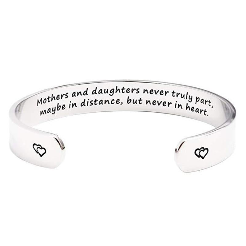 Mothers and Daughters never truly part, maybe in distance but never in heart