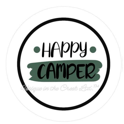 "624. Happy Camper ""PAPER"" image center"