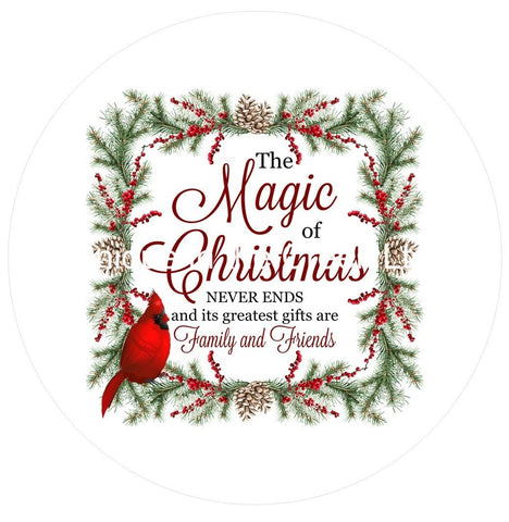 691.  The magic of Christmas Vinyl image center