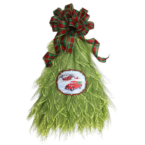 UITC™ All in One Traditional Christmas Tree Wreath Kit