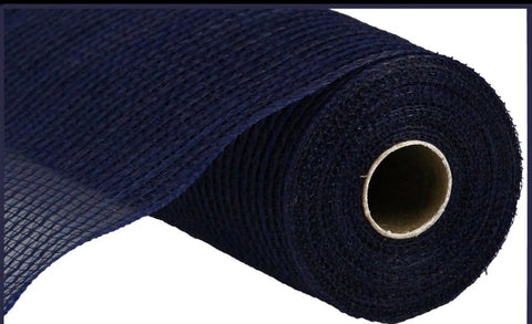 "10.5""X10yd FABRIC MESH Navy - unique in the creek canada"