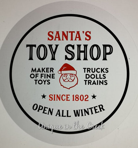 Santa's Toy Shop- digital insert for use with the UITC system - unique in the creek canada