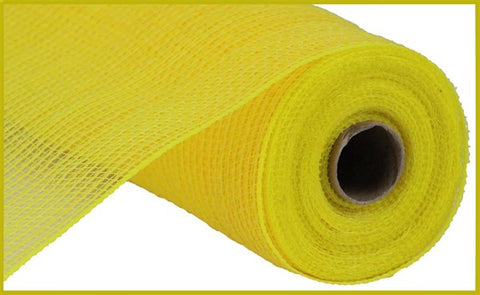 "21""X10yd FABRIC MESH YELLOW perfect for LARGE FLOWERS - unique in the creek canada"