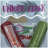 UITC™ All in One Signature Rose Wreath Kit - unique in the creek canada