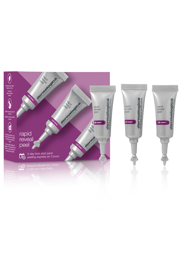 Dermalogica rapid reveal peel kick-start set 3 тюбика x 3 мл
