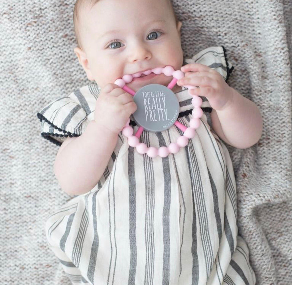 Wonder Bib and Happy Teether Combo