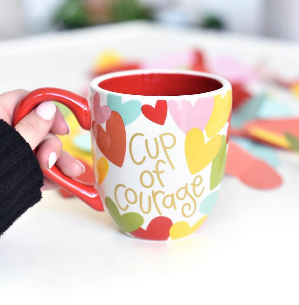 Cup of Courage Give Back Mug