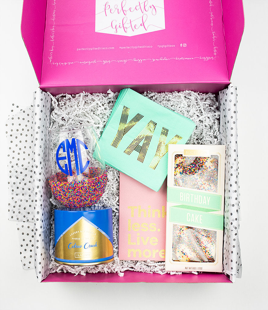 Sprinkle Birthday Box