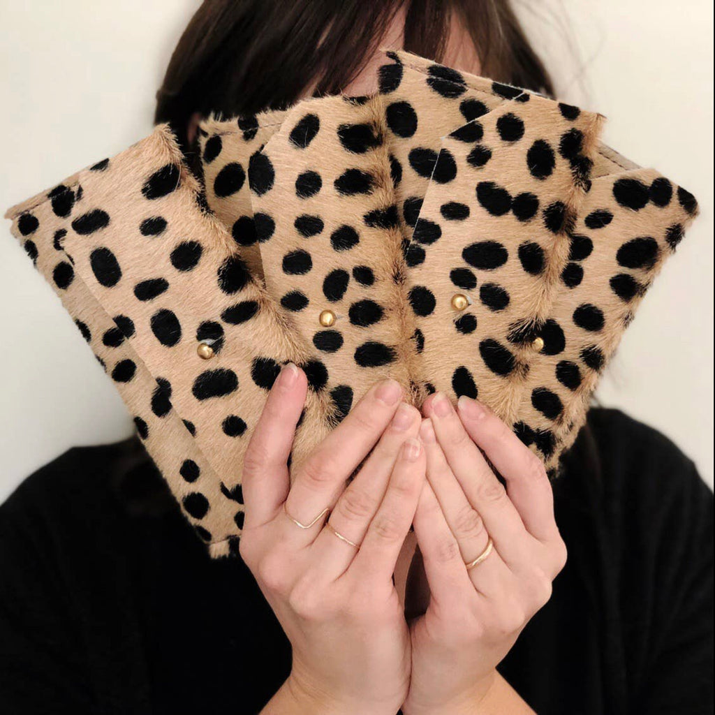 Cow Hide Clutches PREORDER