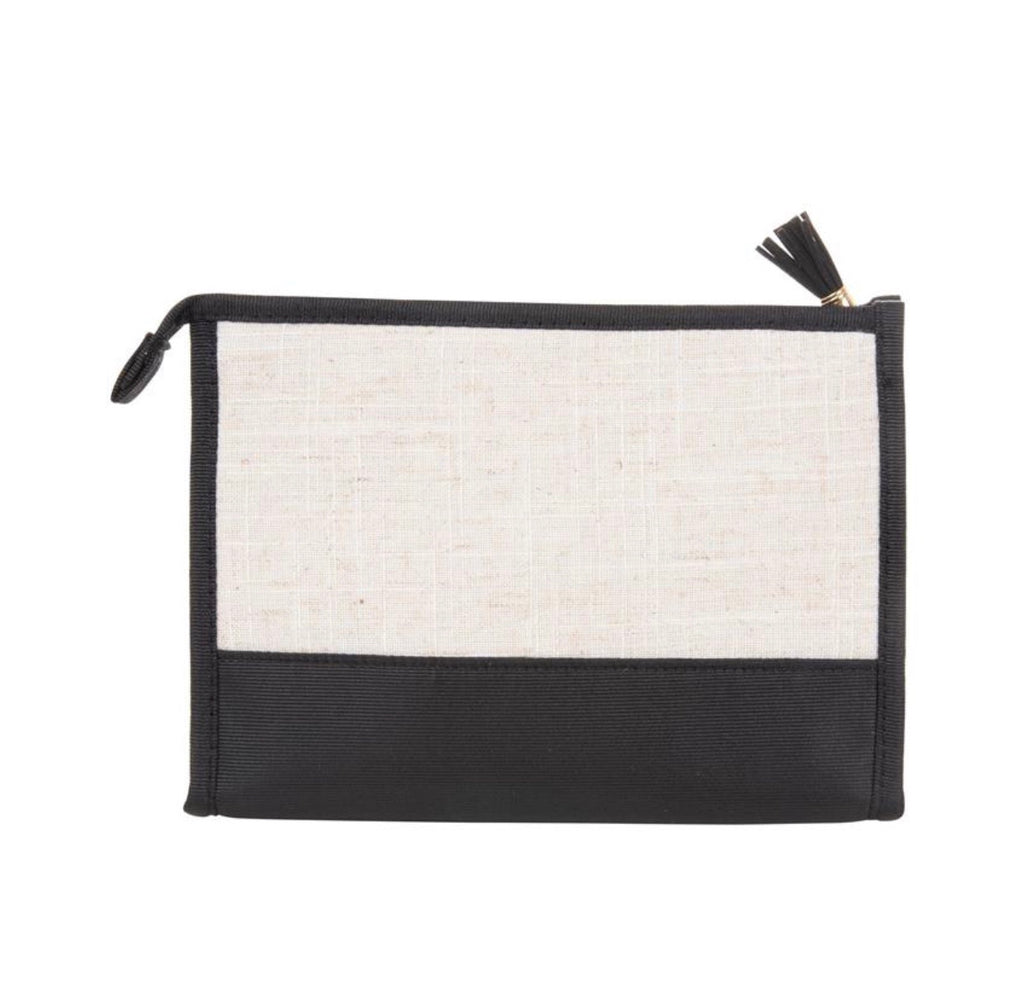 Linen Cosmetic Case
