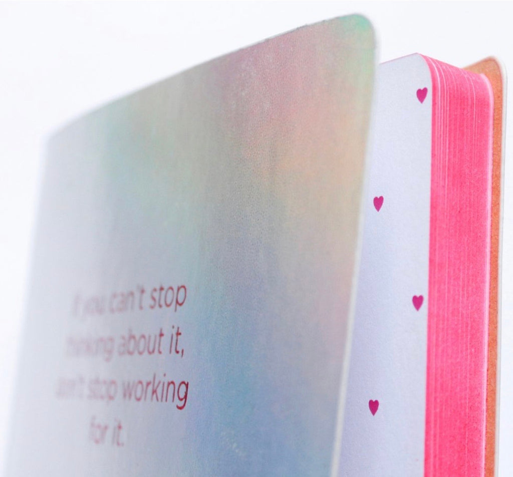 If You Can't Stop Thinking About It, Hologram Notebook