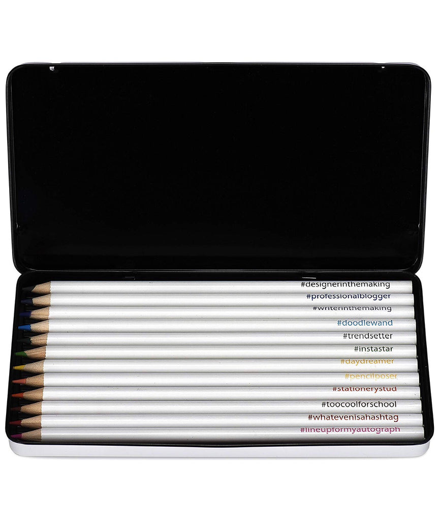 Color Pencils in Tin Case