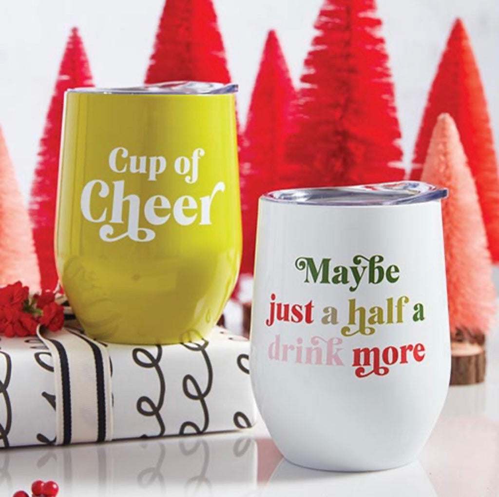 Holiday Stainless Tumblers