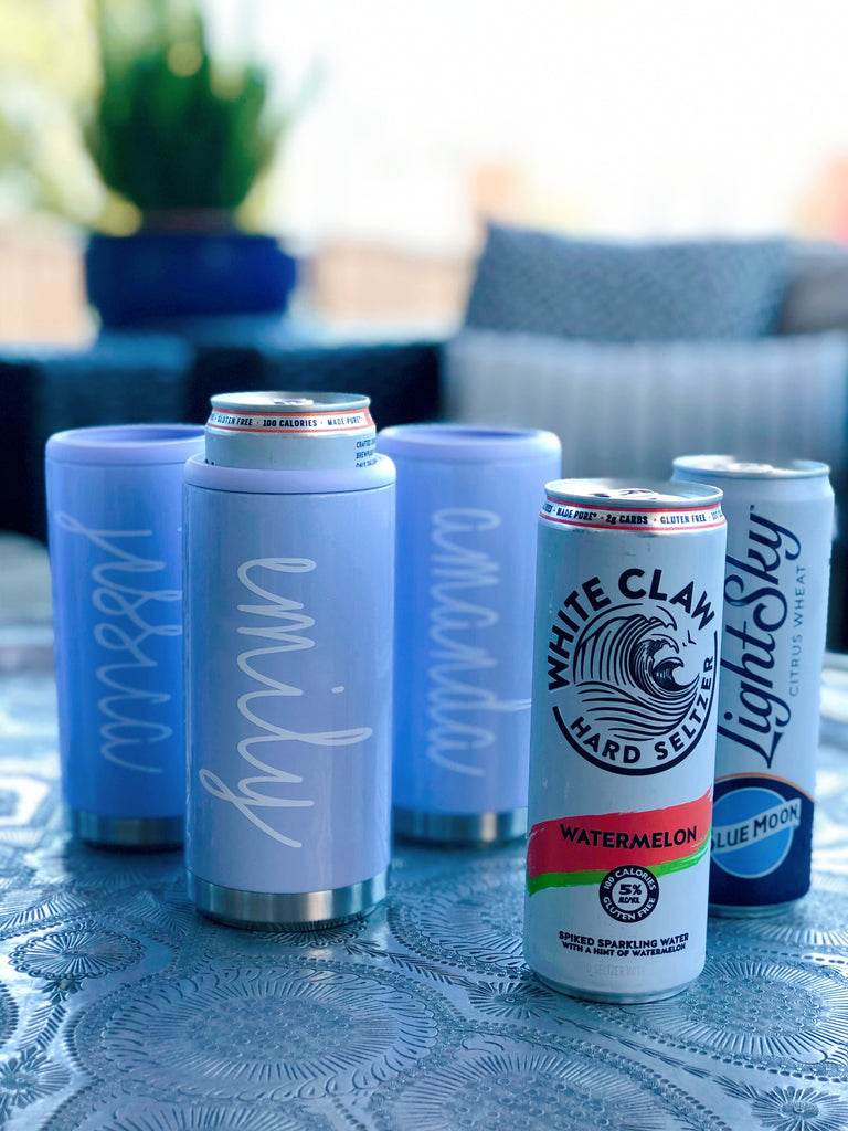 Stainless Skinny Can Coolers