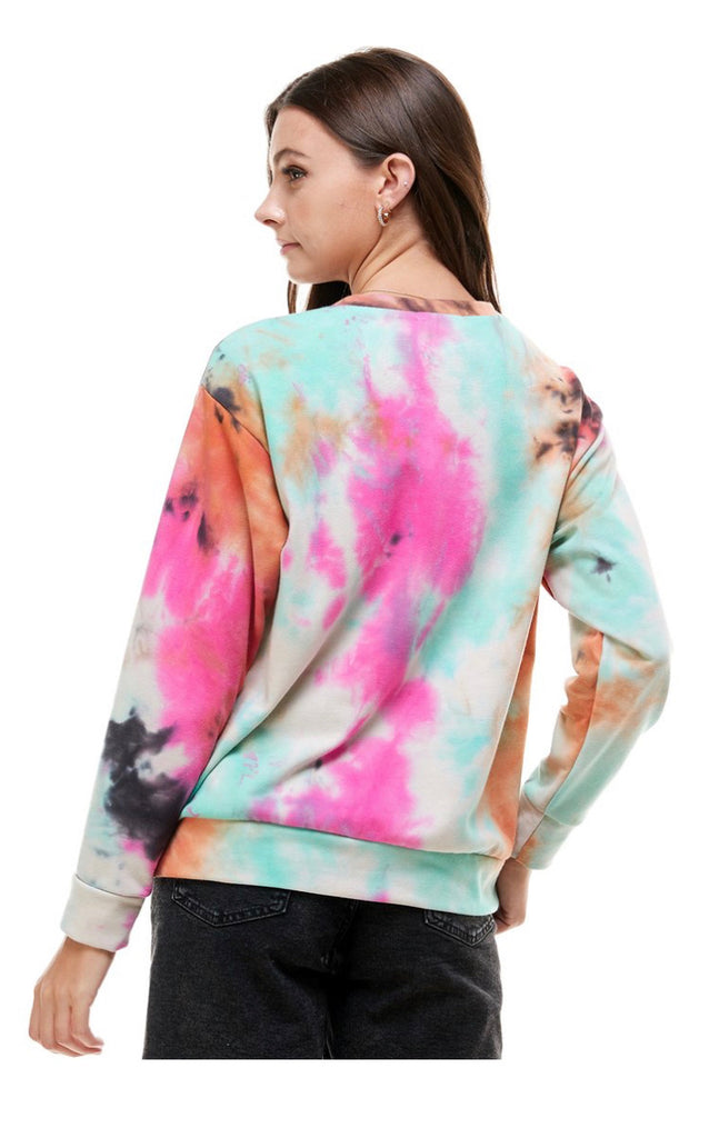 Personalized Tie Dye Sweatshirt