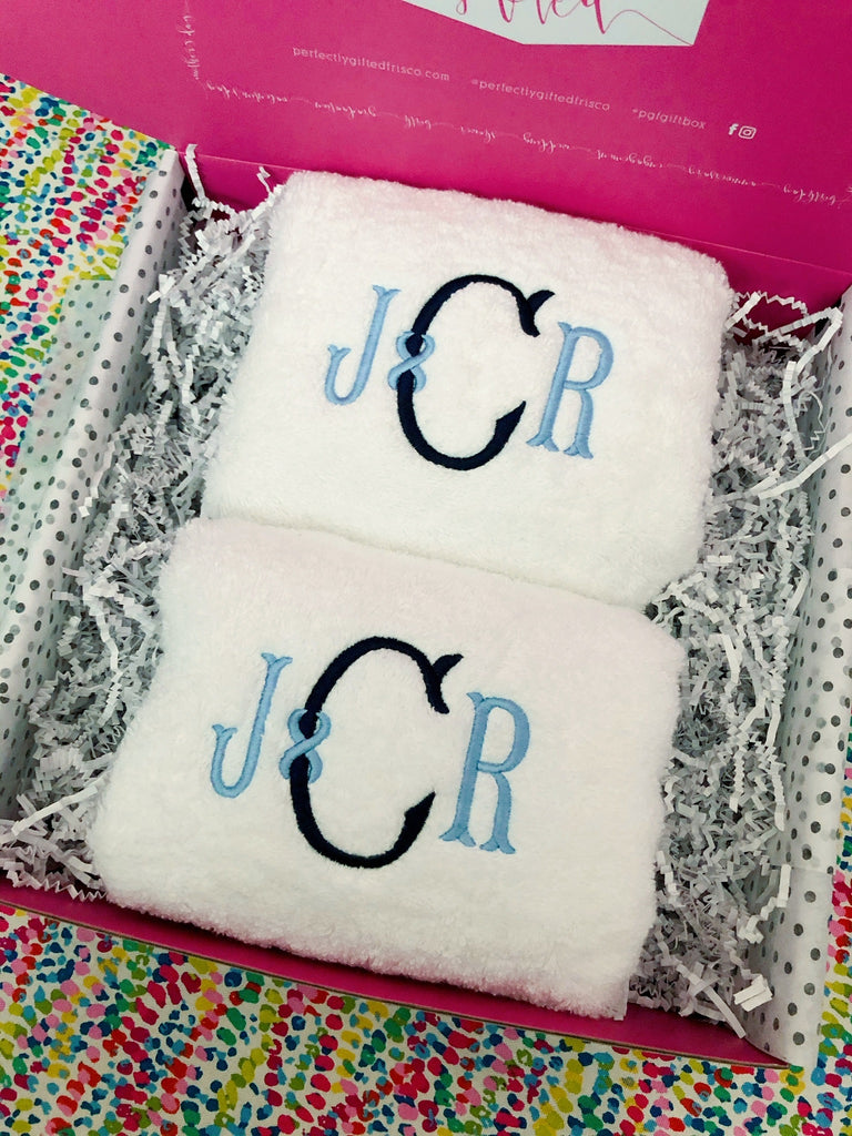 Personalized Hand Towel Gift Box