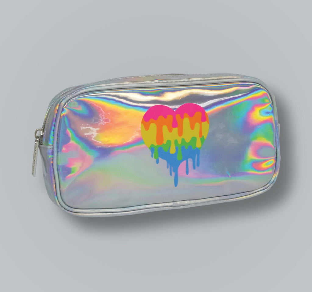 Dropping Hearts Holographic Case