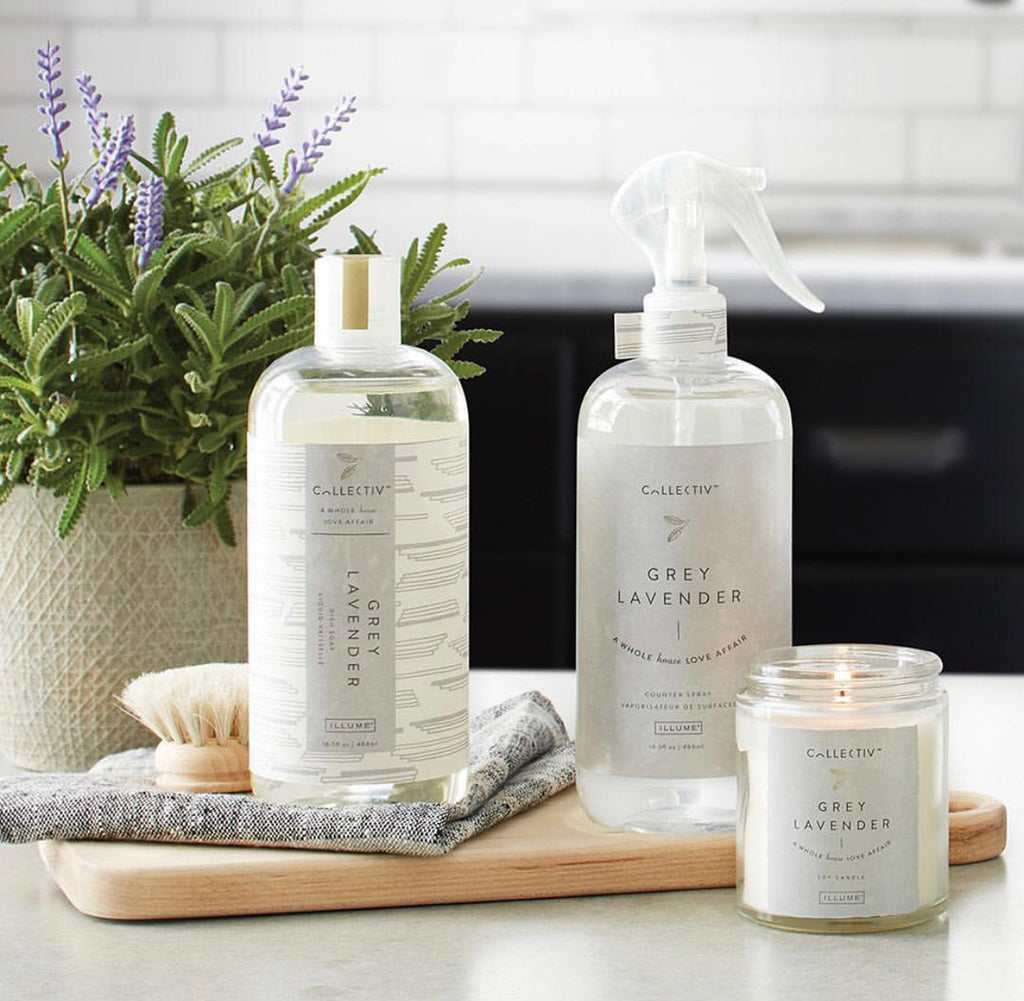 Grey Lavender Dish Soap & Counter Spary