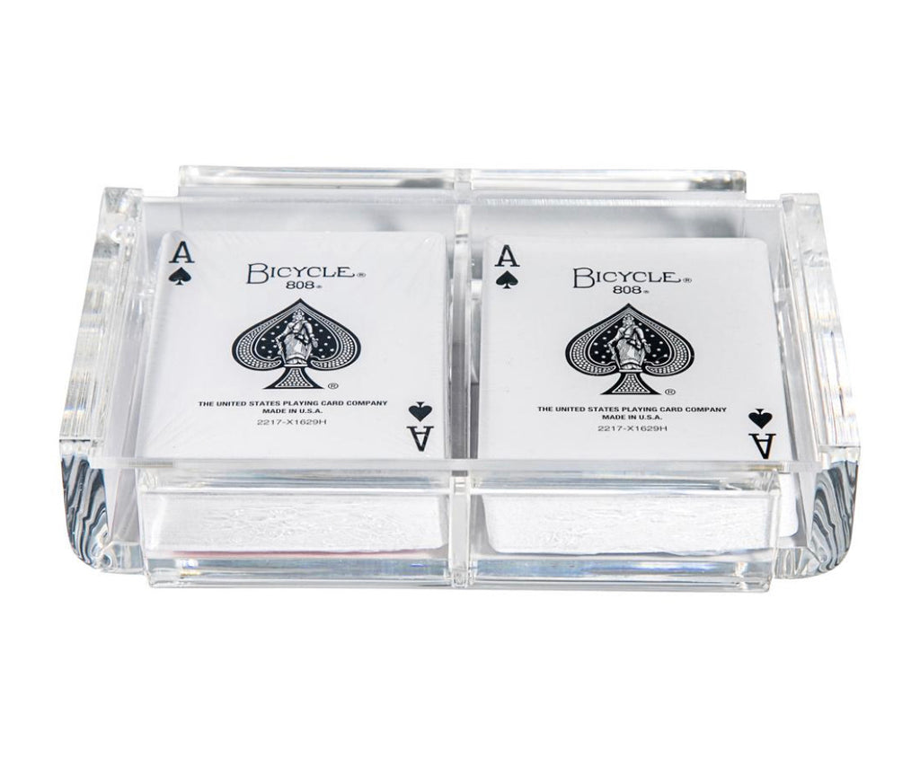 Luxury Acrylic Playing Cards