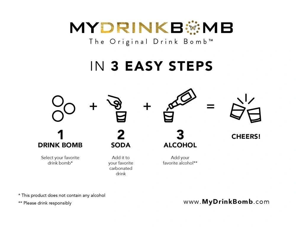 PREORDER Mixology Drink Bomb - 4 Pack