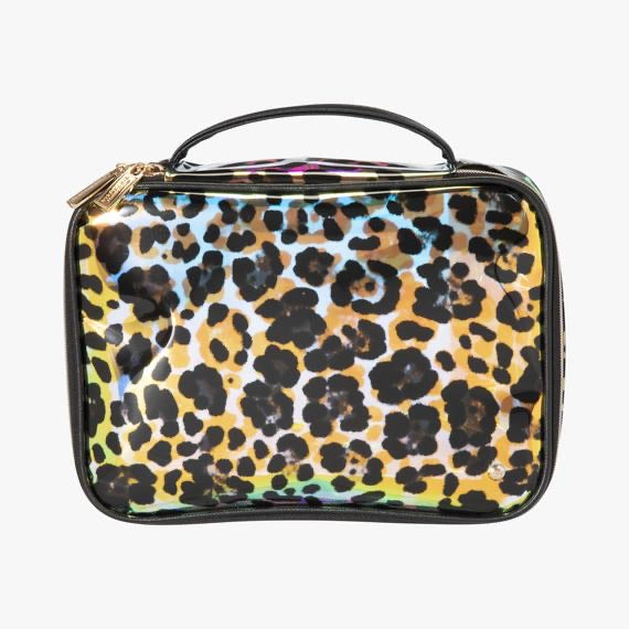 Cheetah Holograph Jumbo Makeup Case