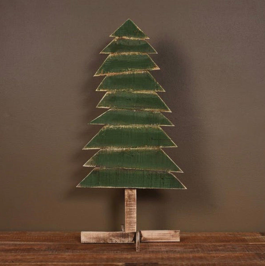 Wood Slat Christmas Tree