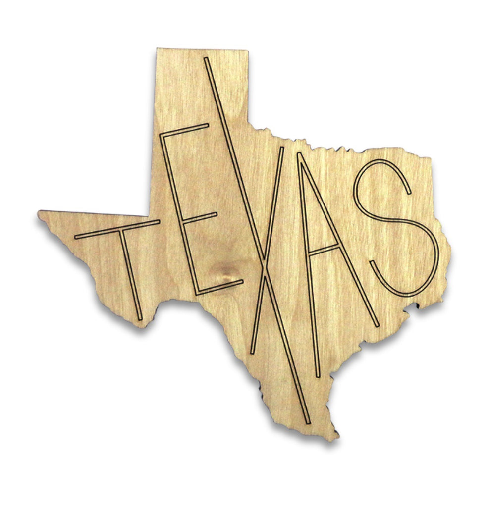Texas Cut Out Coasters