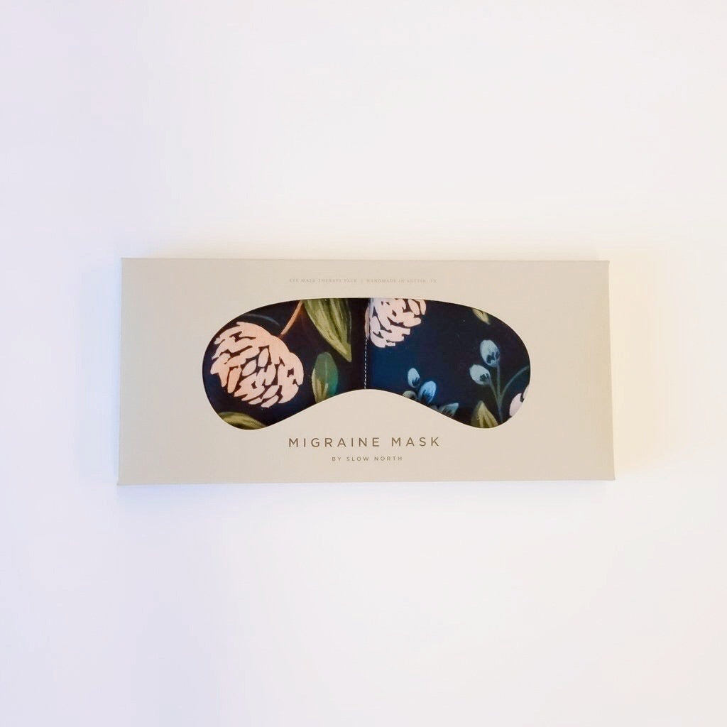 Eye Mask Therapy Pack - Blue Peonies