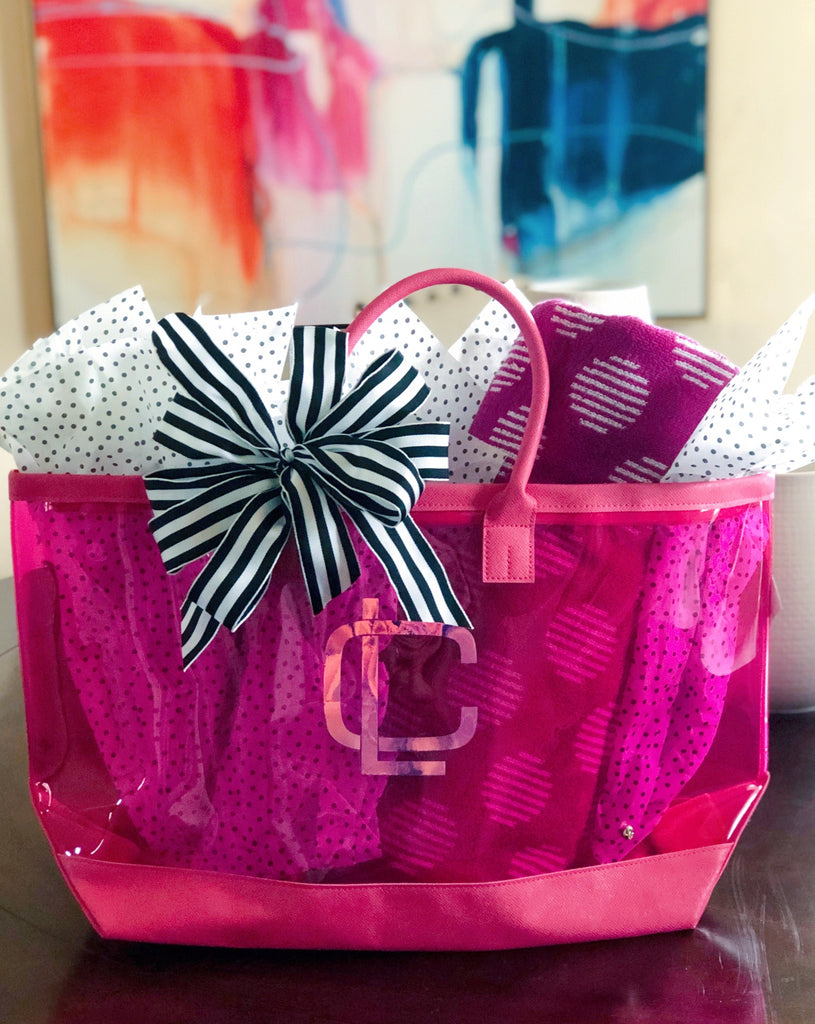 Clear Chic Tote Bag