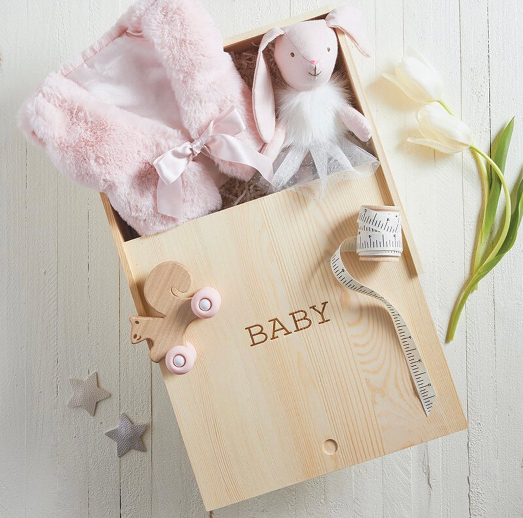 Wooden Keepsake Box - Baby