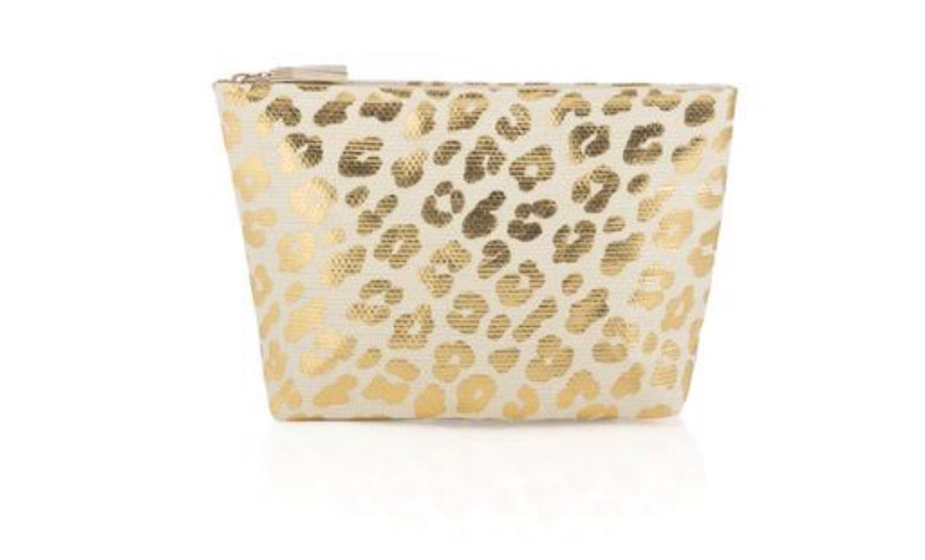 Leopard Tote with Pouch