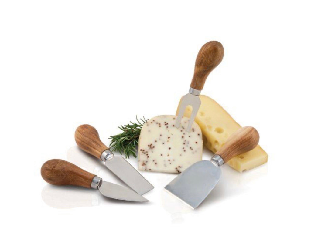 Rustic Farmhouse Cheese Knife Set
