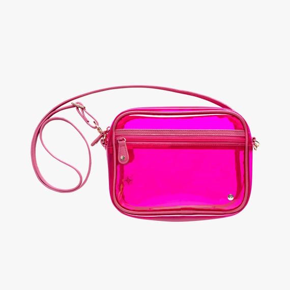 Clear Iridescent Crossbody