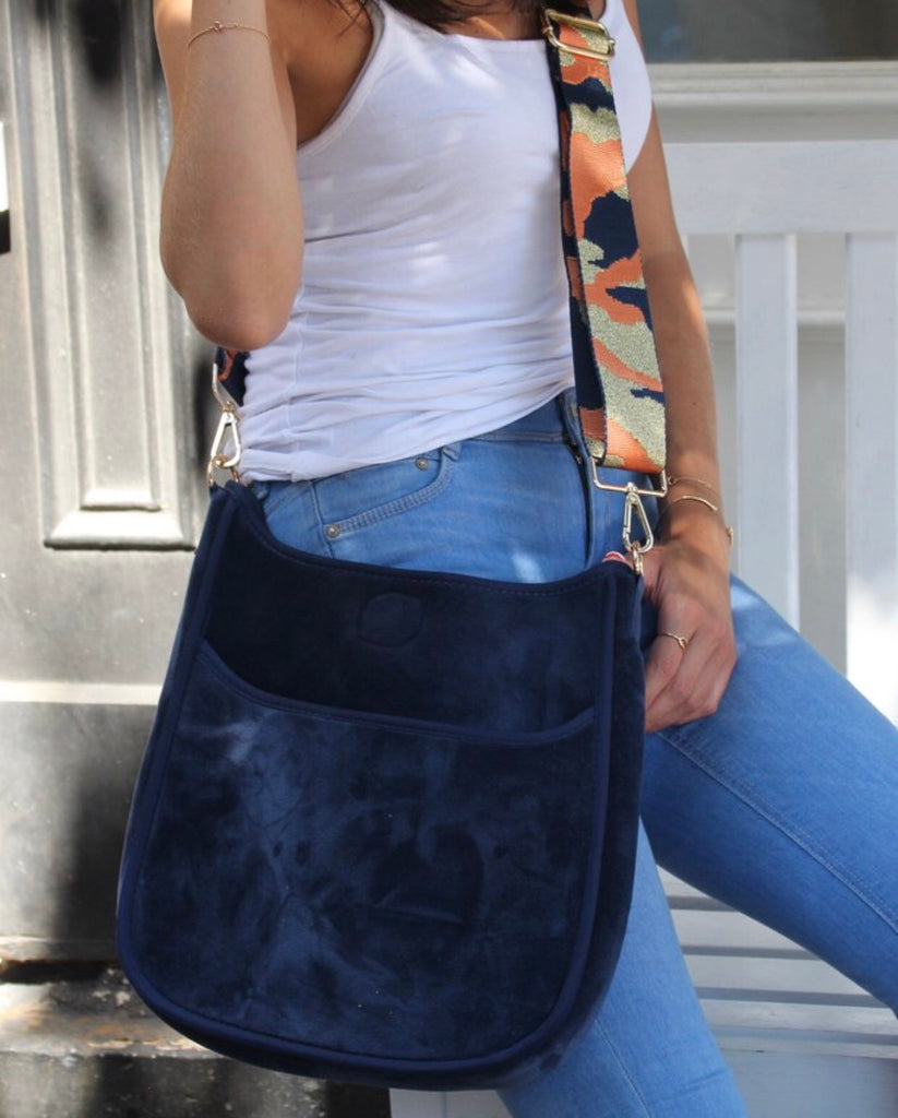 Messenger Crossbody with Guitar Strap