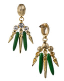WARRIOR DANGLE EARRING