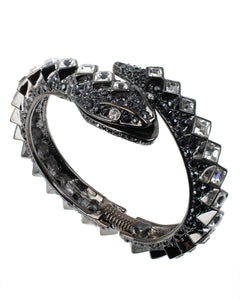 DIAMOND BACK SNAKE BANGLE BRACELET