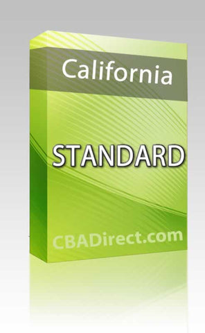 California Standard Package