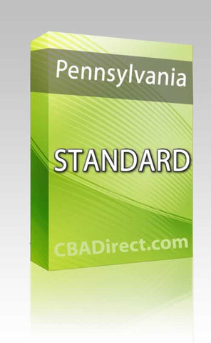 Pennsylvania Standard Package