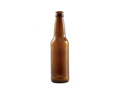 BOTTLE - 12 OZ - AMBER BEER BOTTLES (24/CASE)